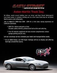 ESX ASTON MARTIN TRACK DAY